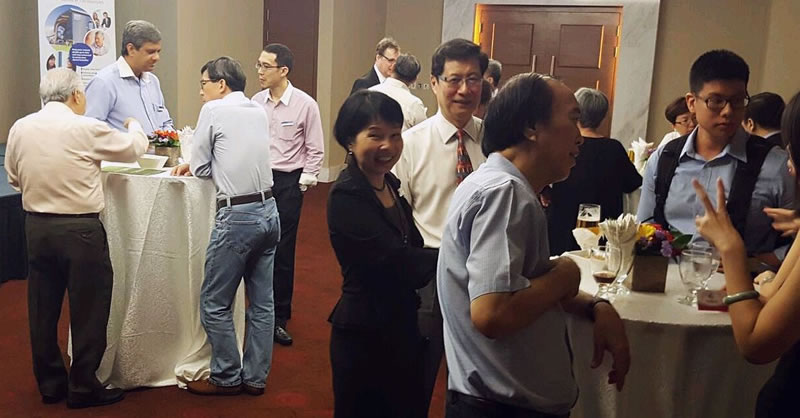Singapore Alumni Reception with Dean John Board