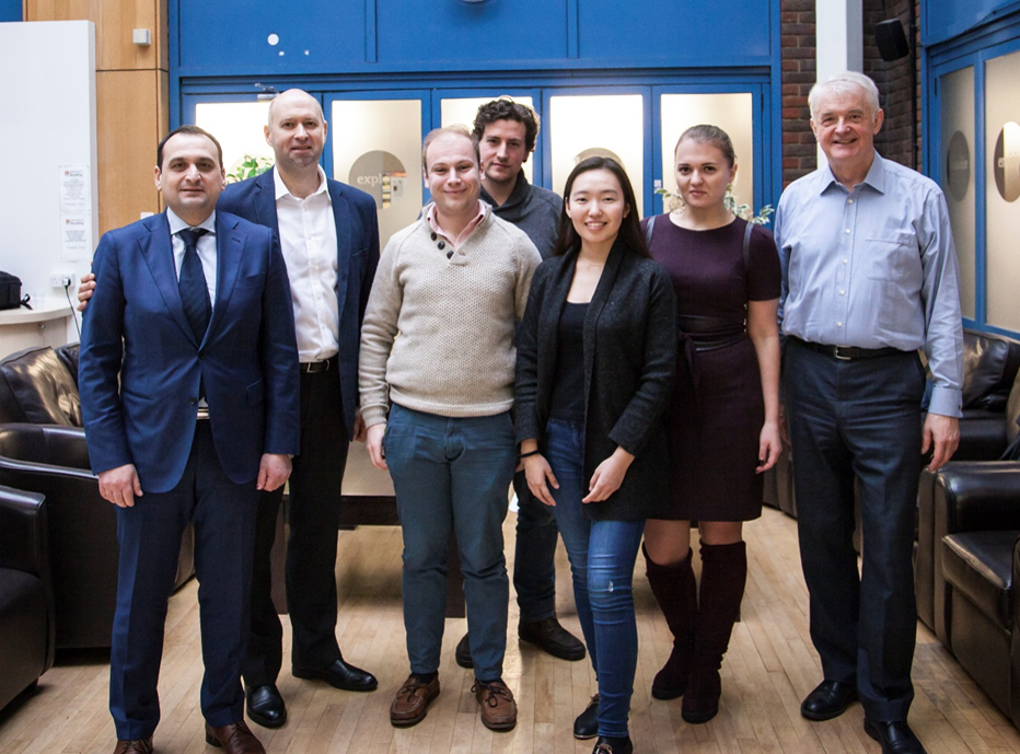 Henley Centre for Entrepreneurship and Centre for Euro-Asian Studies Host Moscow Visitors