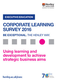 Corporate Learning Survey 2016