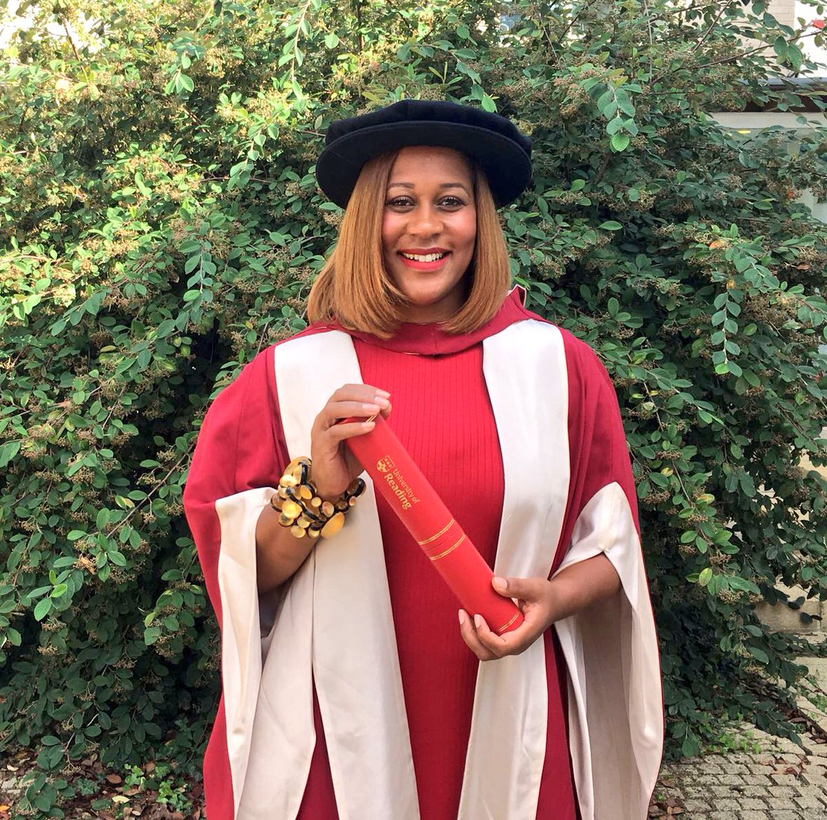 Karen Blackett OBE awarded honorary degree