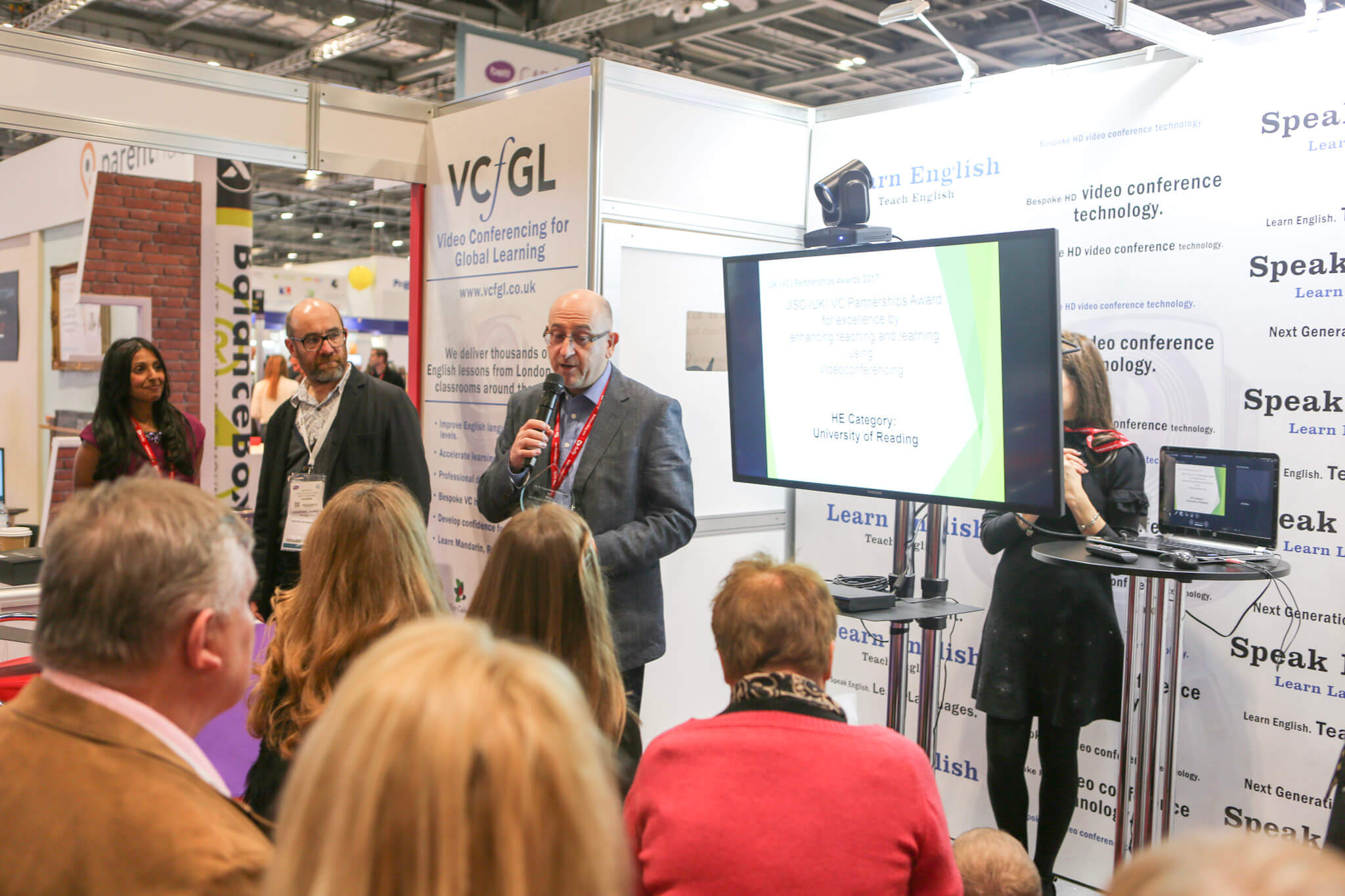 Henley win award for School Outreach at BETT Conference 2017