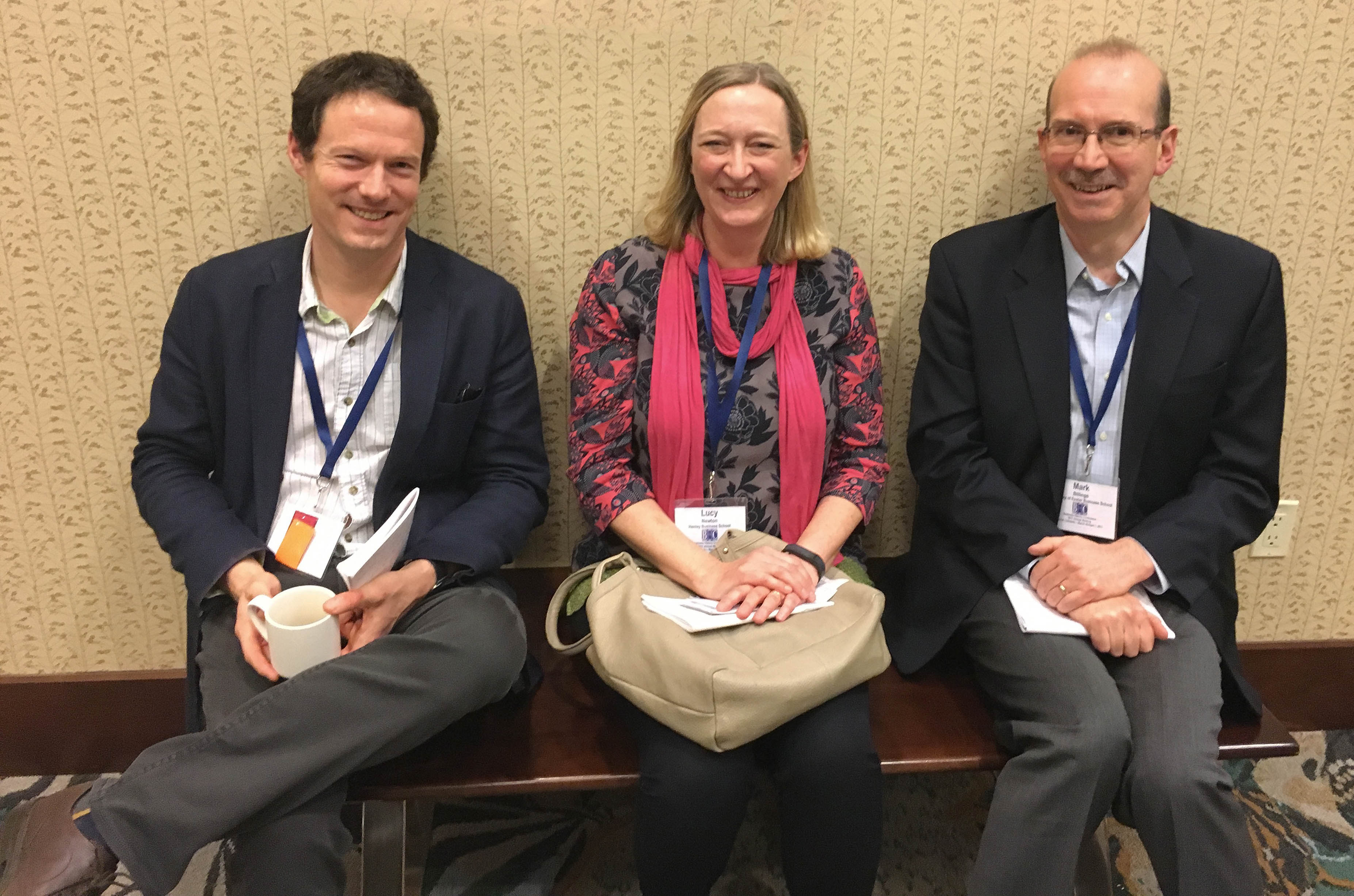 IBS faculty present papers at the Business History Conference in Denver
