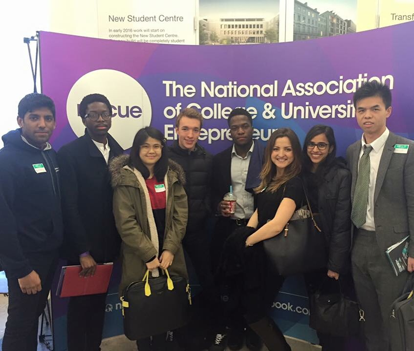 The Entrepreneurship Society visit the NACUE Student Enterprise Conference