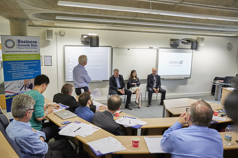 Excellent was the overwhelming verdict on the Speakers Panel held at Henley Business School