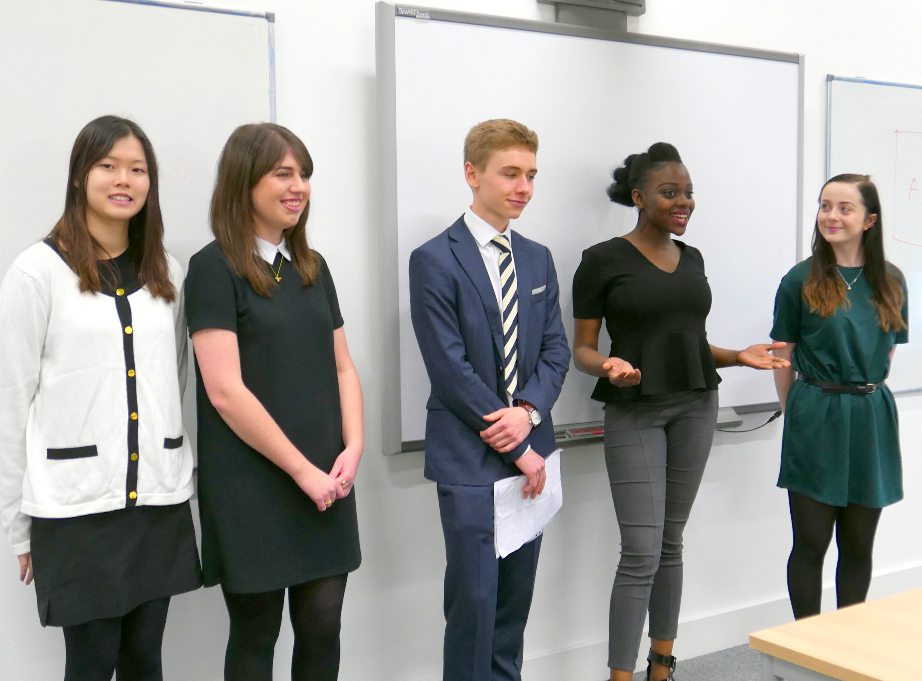 REP students take part in Dragons' Den event