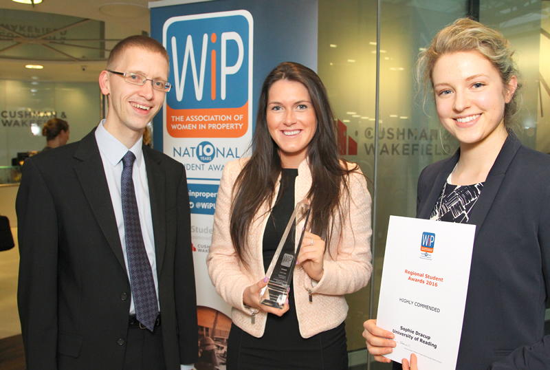 Real Estate & Planning student wins Women in Property award