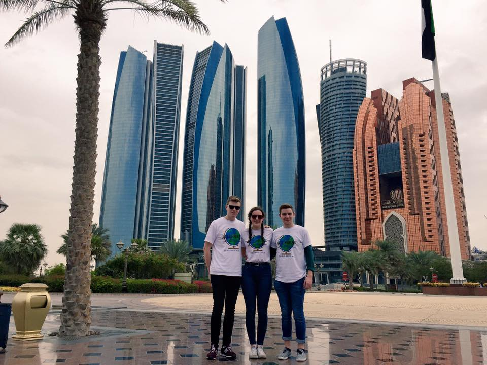 Henley students negotiate their way to Abu Dhabi for charity