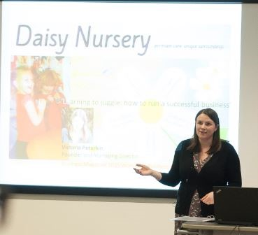 'Inspirational leadership and entrepreneurial spirit by leader of Daisy Nursery'