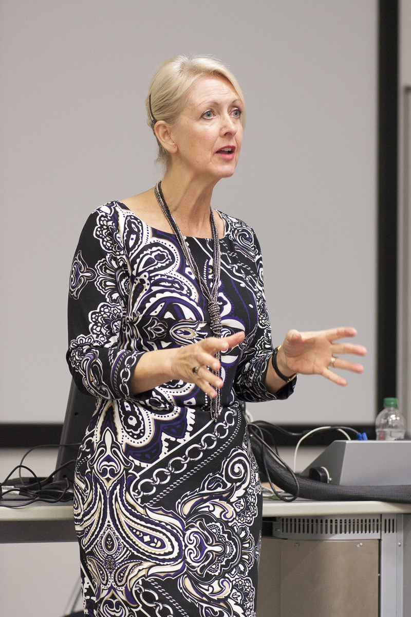 Jan Ward CBE, Founder & CEO Corrotherm International delivers a passionate and motivating talk