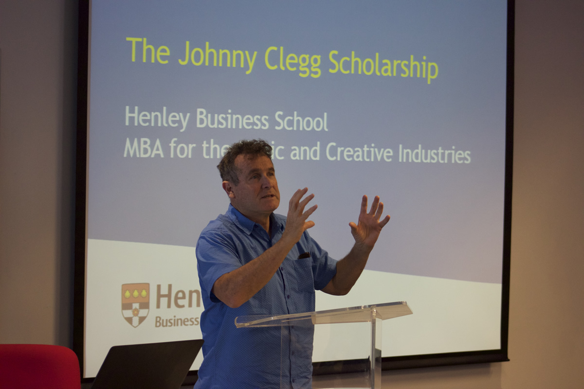 Henley South Africa launches the Johnny Clegg Scholarship for the Music and Creative MBA