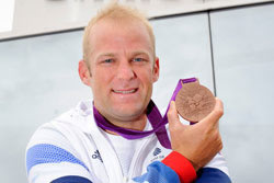 Henley Business School MBA Alex Partridge wins bronze at Olympics