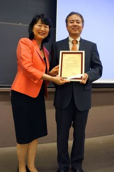 "Professor Masayuki Furusawa awarded ""Best book of the year"" for his new book"