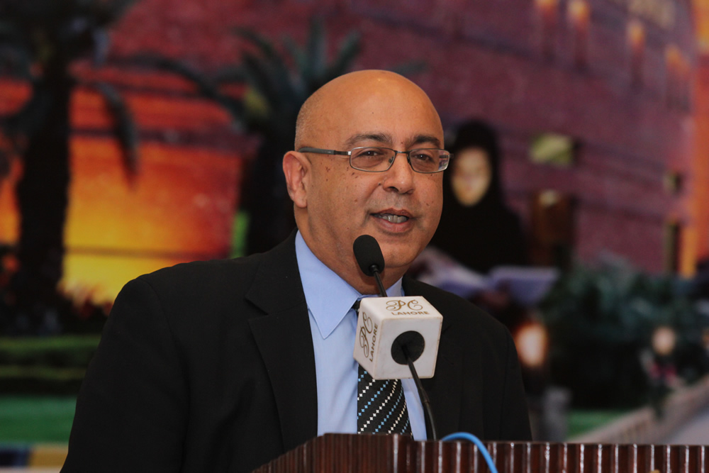 Professor Narula was a keynote speaker at the 3rd International Conference in Pakistan