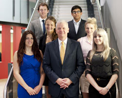 Reading students win plaudits in car maker's marketing project