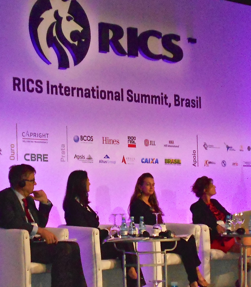 Real Estate & Planning at first RICS Global Summit in Latin America