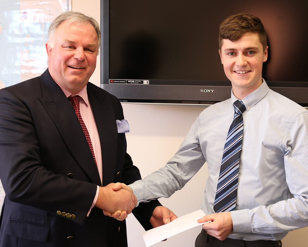 Real Estate & Planning undergraduate student wins industry bursary