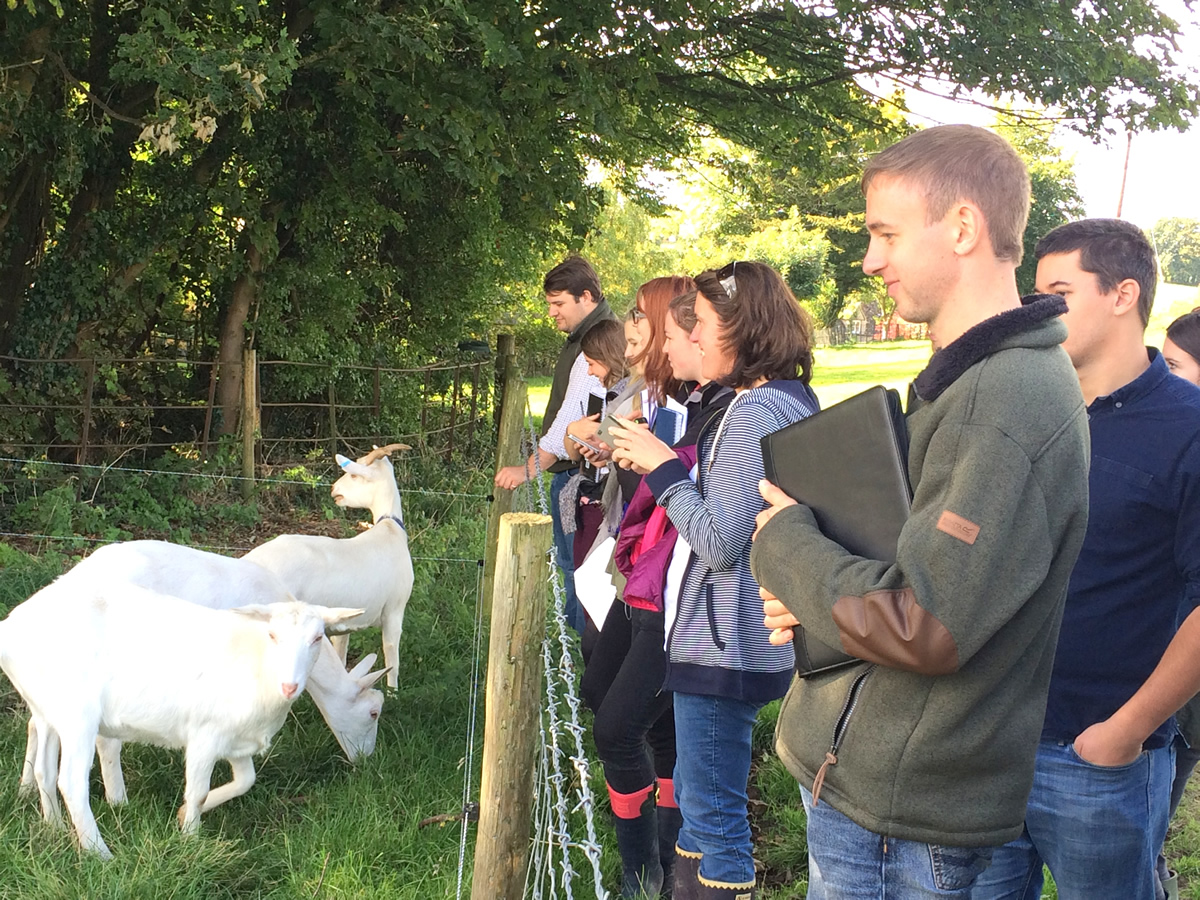 REP's rural students on field trip to Gloucestershire