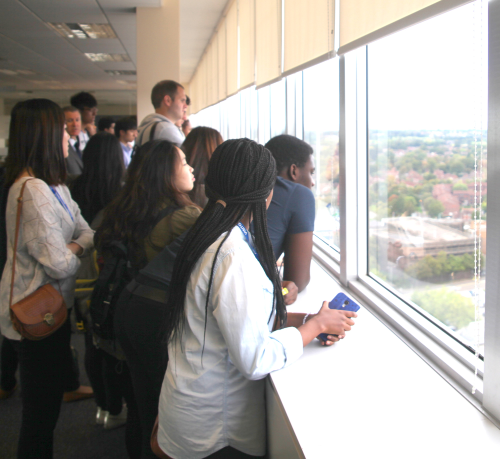 REP's Undergraduate Freshers on Study Tour in Bracknell