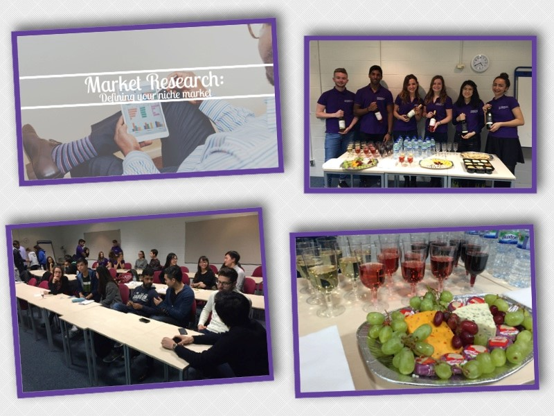 'Research your market' - Another sell out event for the Student Entrepreneurship Society.
