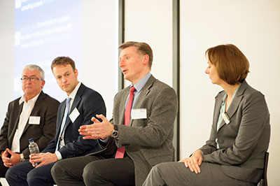 'Sourcing Finance for Business Growth' Speakers Panel at Henley Business School