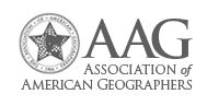 Staff from Real Estate & Planning present papers at AAG Annual Meeting