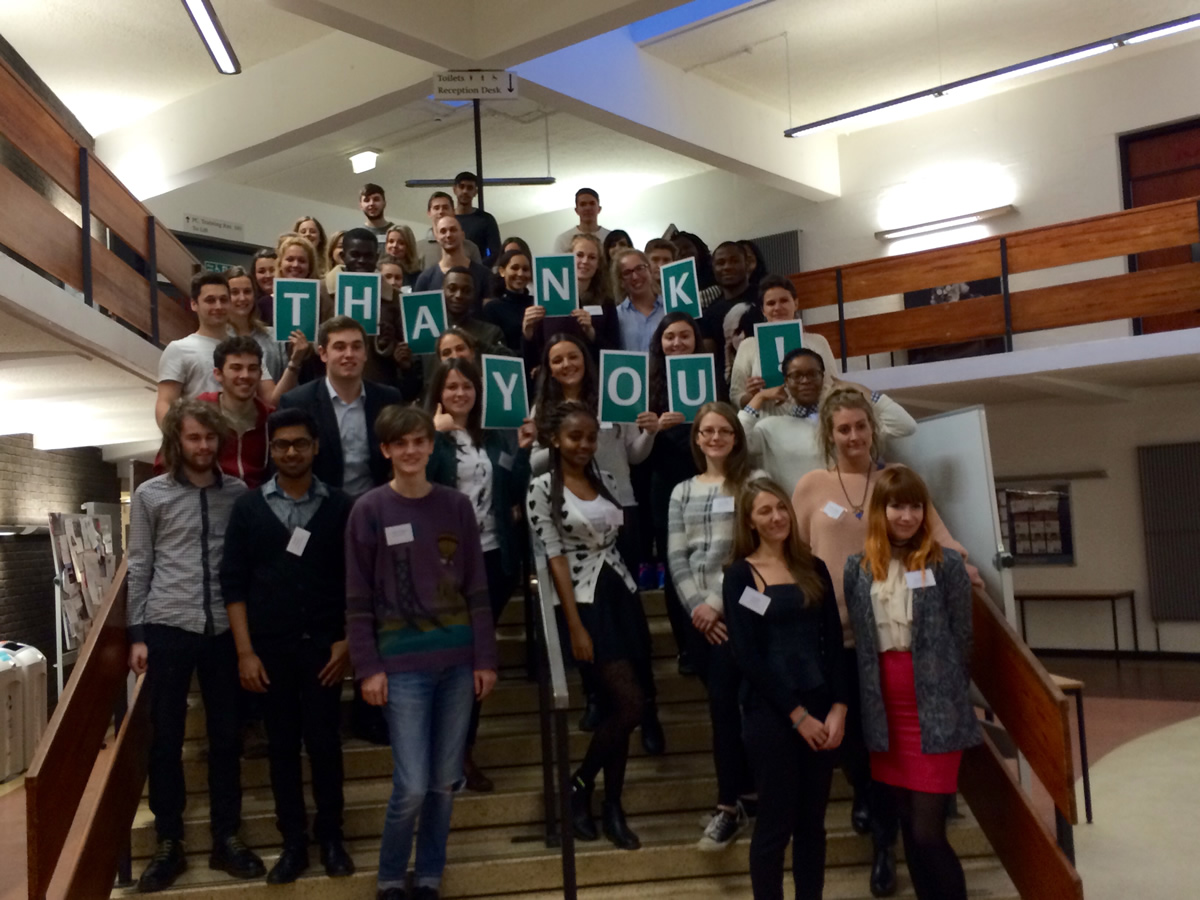 Student callers connect with Henley Alumni