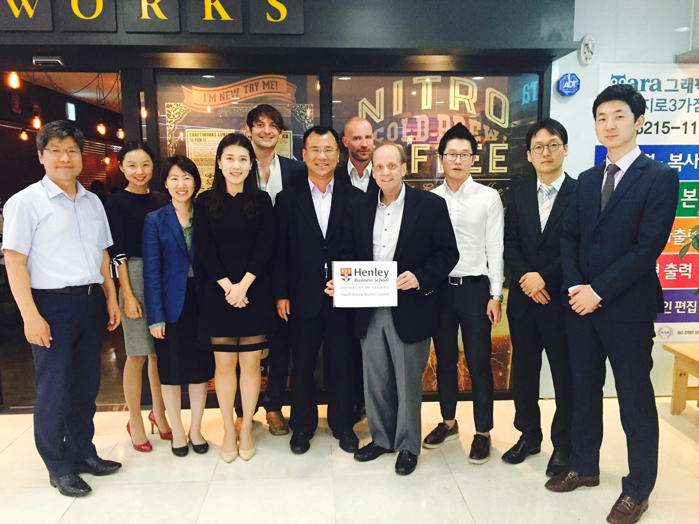 The Henley Business School Alumni Group South Korea has launched