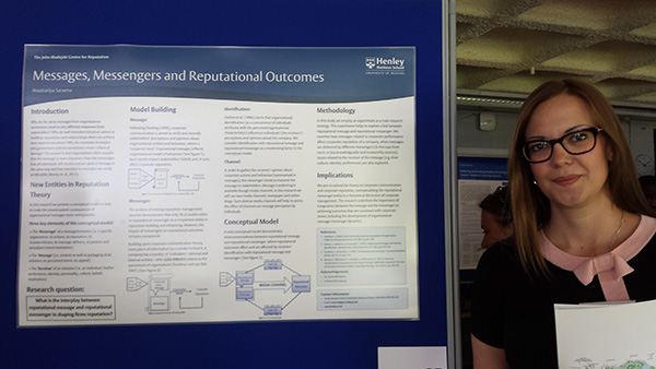 University of Reading PhD Conference 2014 - Poster Competition