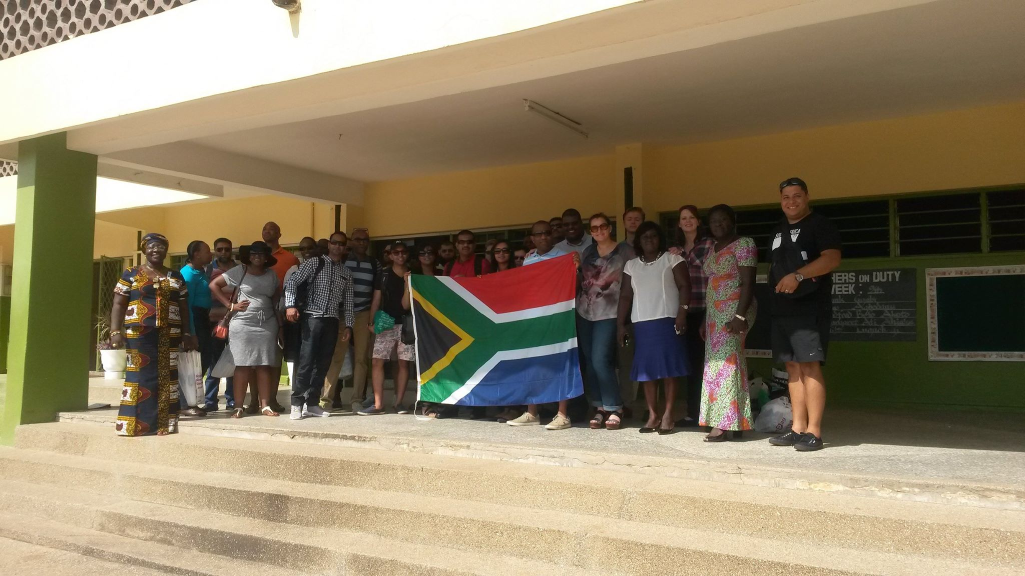 Henley South Africa's W&RSETA ILDP 2015 visit to Ghana