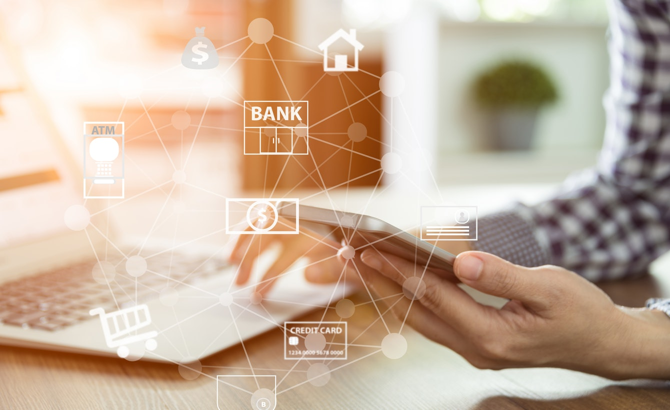Banking with technology companies