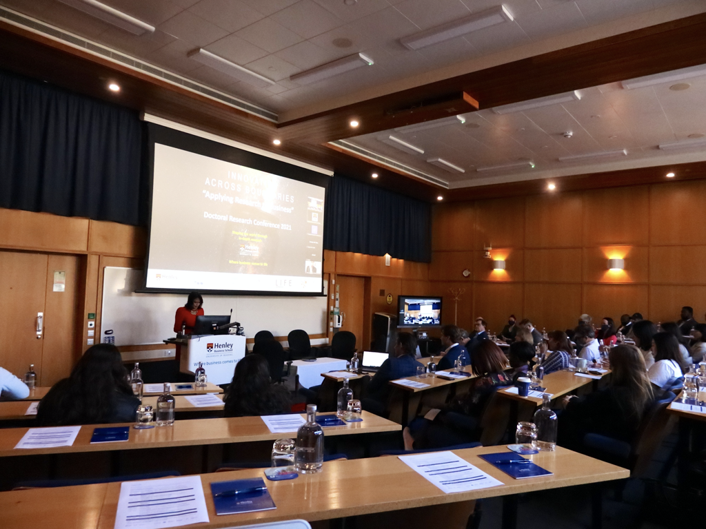 Doctoral Research Conference 2021 001