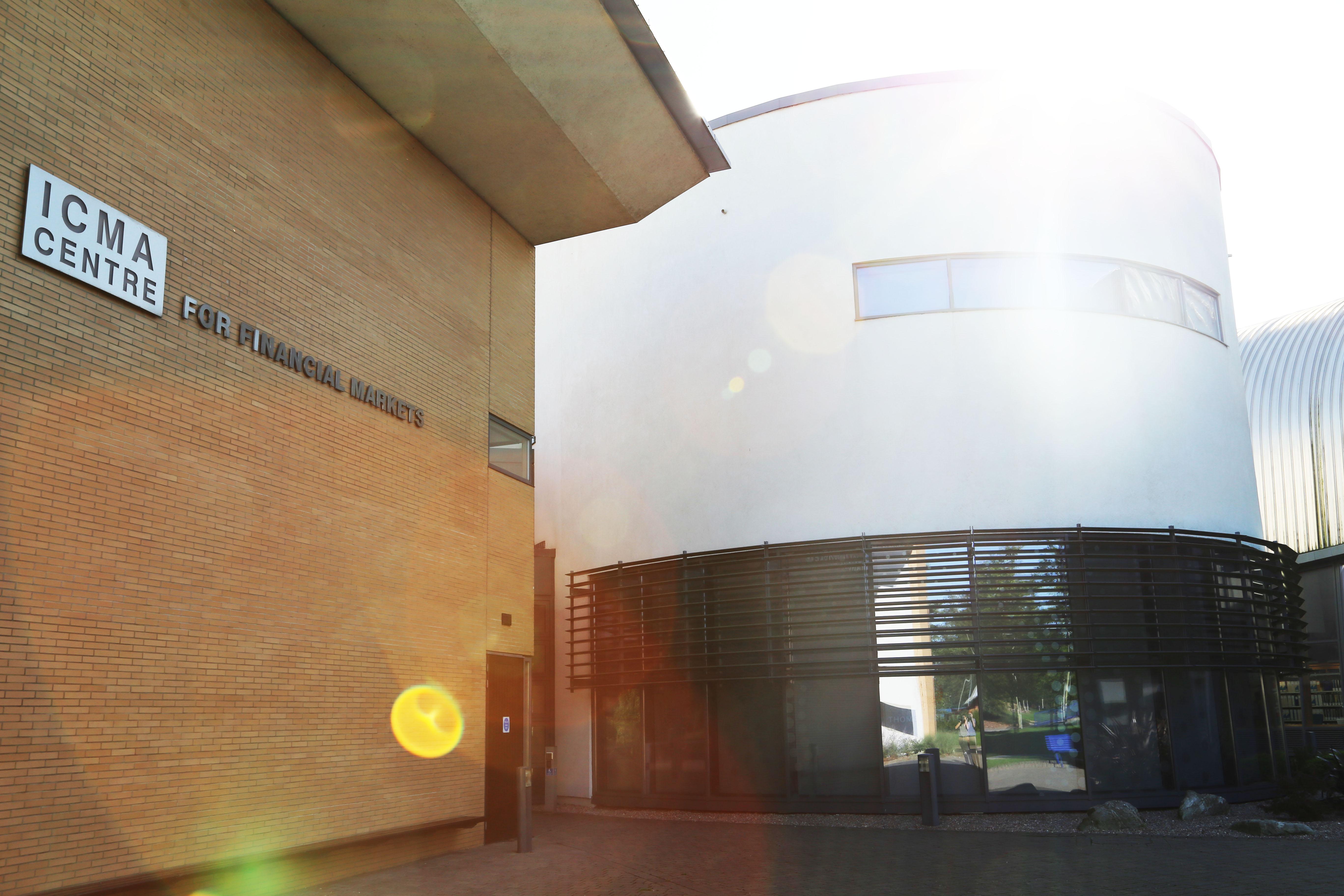 ICMA Centre sun flare