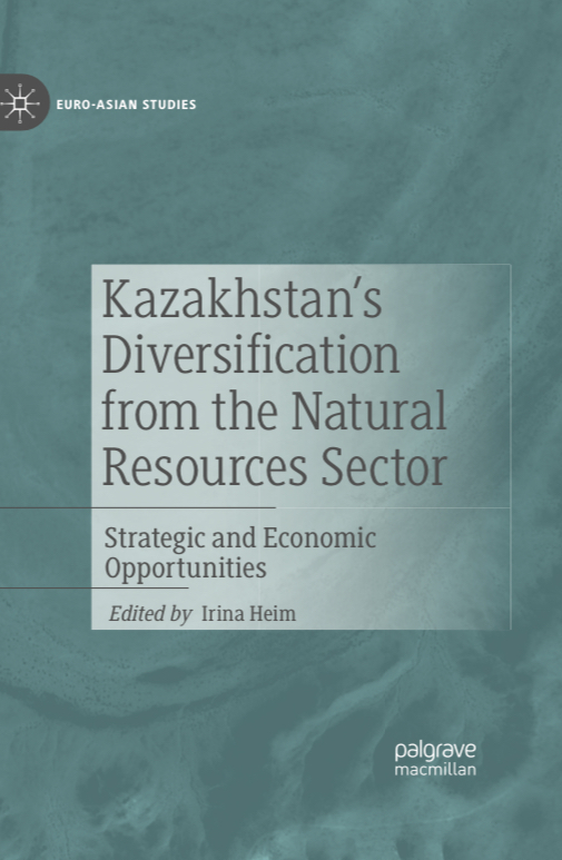 Dr Irina Heim publishes book of her studies on Kazakhstan's natural resources sector