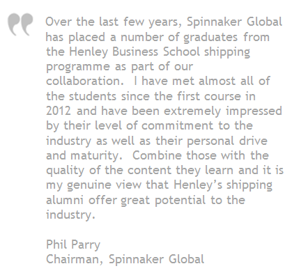 Phil Parry Spinnaker Global quote