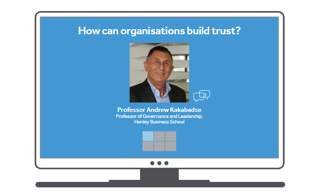 Return to the World of Work: How can organisations build trust?