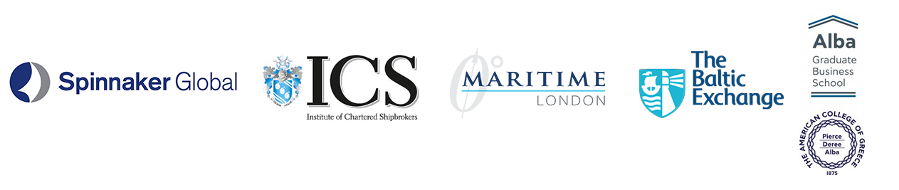 Spinnaker Global, Institute of Chartered Shipbrokers, Maritime London, The Baltic Exchange, ALBA Graduate Business School