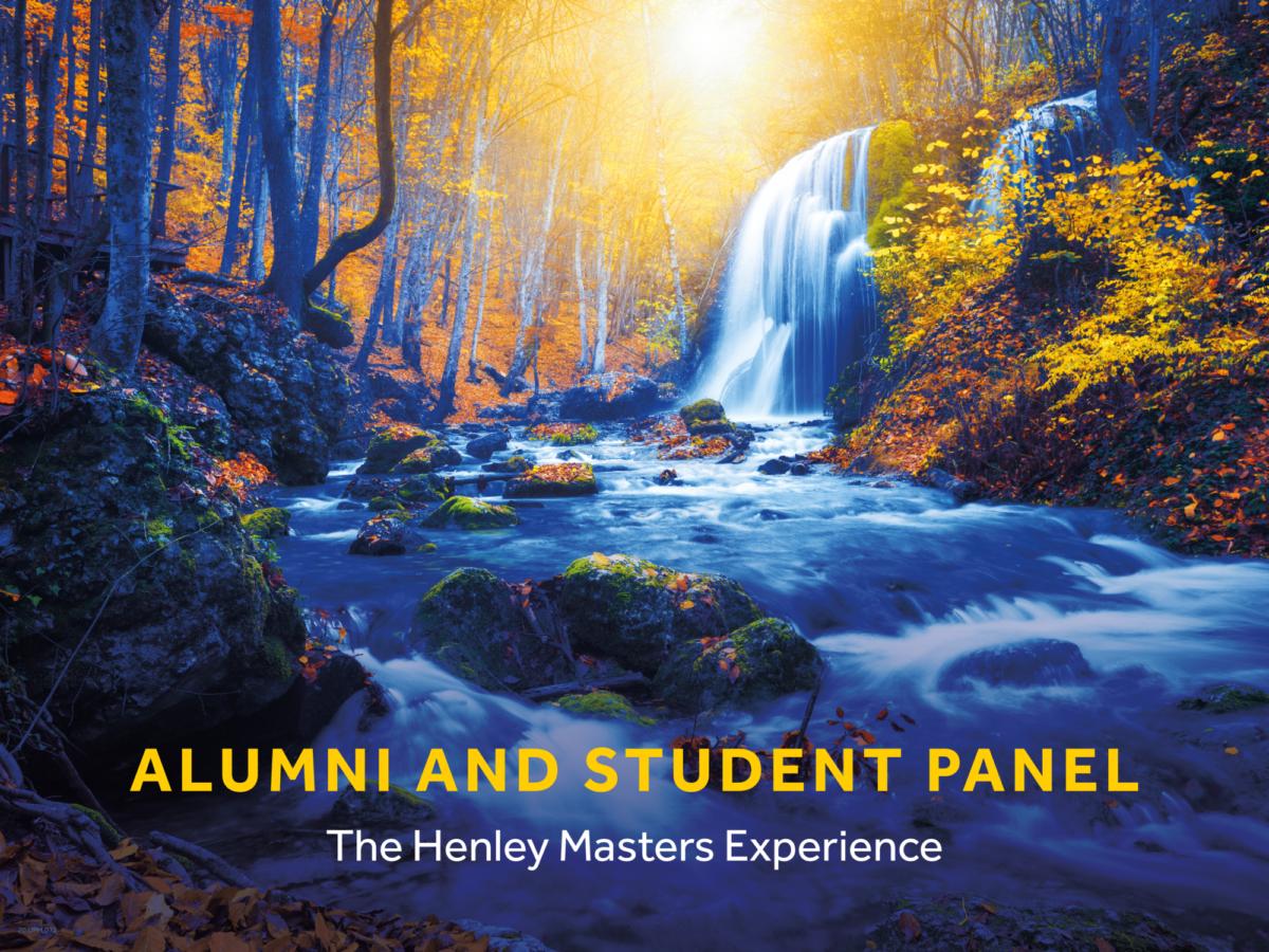 Alumni and student panel