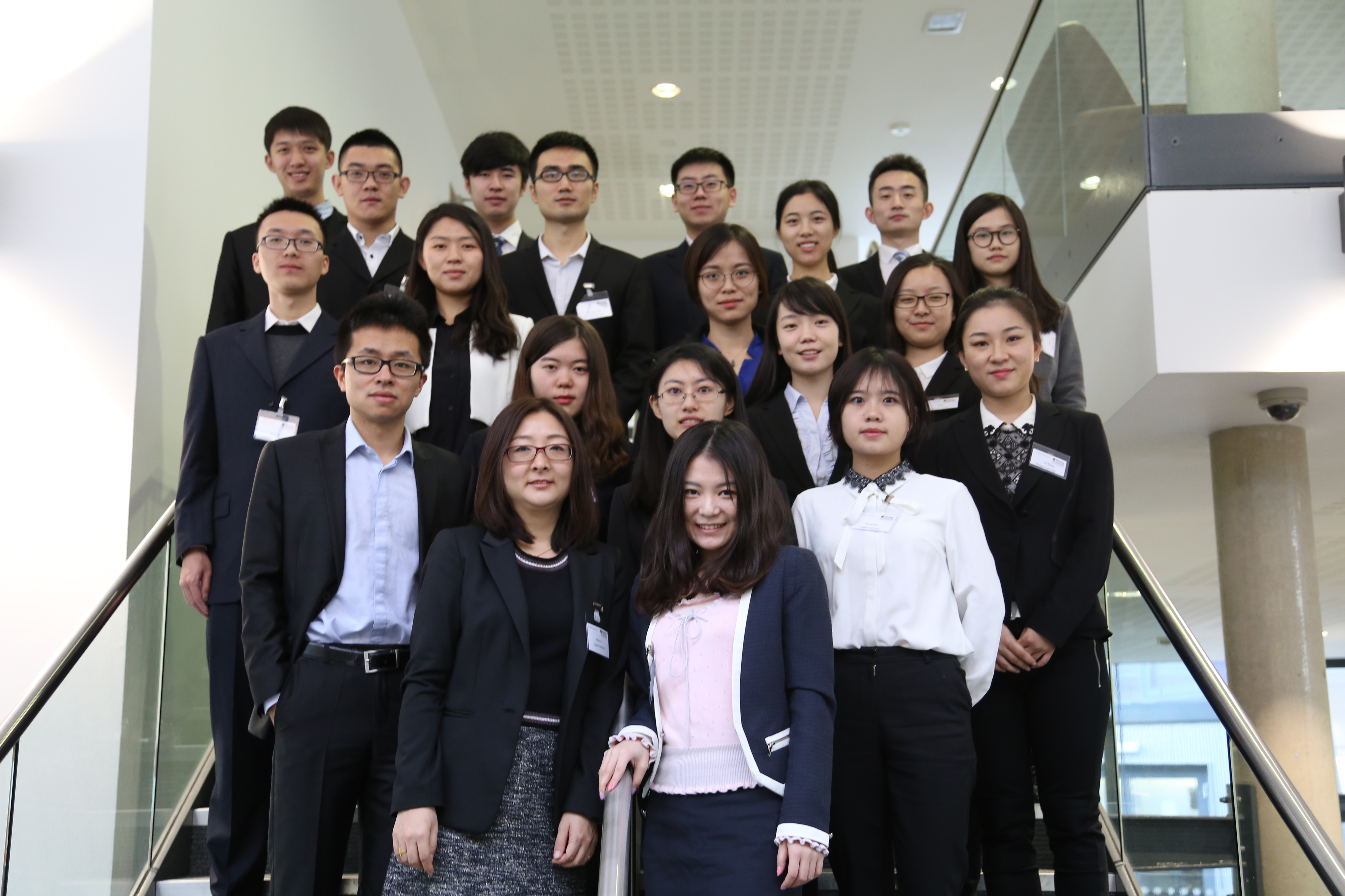 Tsinghua University Students Visit ICMA Centre for Second Year Running